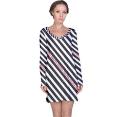 Selina Zebra Long Sleeve Nightdresses