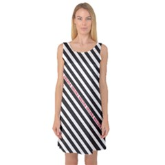 Selina Zebra Sleeveless Satin Nightdresses