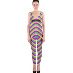 Vintage Geometric OnePiece Catsuits