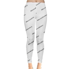 Bernie Hashtags Women s Leggings