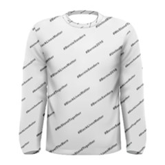 Bernie Hashtags Men s Long Sleeve T-shirts