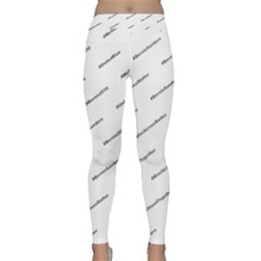 Bernie Hashtags Yoga Leggings