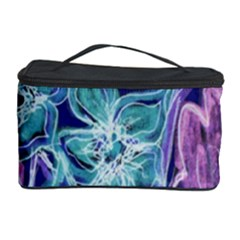 Purple, Pink Aqua Flower style Cosmetic Storage Cases
