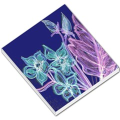 Purple, Pink Aqua Flower Style Small Memo Pads