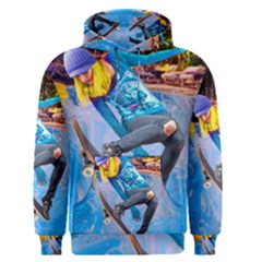 Skateboarding on Water Men s Pullover Hoodies