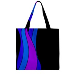 Blues Grocery Tote Bag