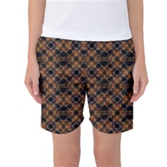 Luxury Modern Baroque Women s Basketball Shorts
