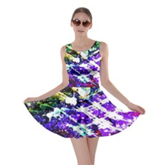 Officially Sexy Floating Hearts Collection Purple Skater Dress