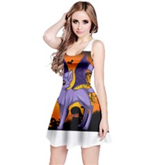 Seruki Vampire Kitty Cat Reversible Sleeveless Dresses