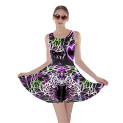 Officially Sexy Panther Collection Purple Skater Dress