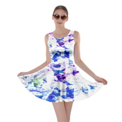Officially Sexy  Candy Collection Blue Skater Dress