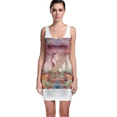 Cell Phone - Nature Forces Bodycon Dresses