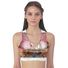 Cell Phone - Nature Forces Women s Sports Bra