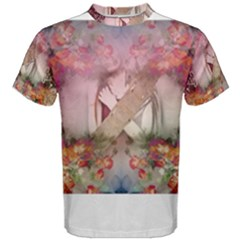 Cell Phone   Nature Forces Men s Cotton Tees