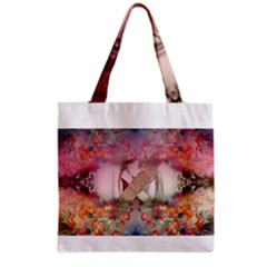 Cell Phone - Nature Forces Grocery Tote Bags