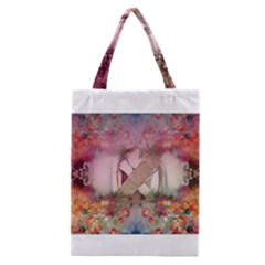 Cell Phone - Nature Forces Classic Tote Bags