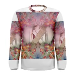 Cell Phone   Nature Forces Men s Long Sleeve T Shirts