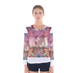 Cell Phone - Nature Forces Women s Long Sleeve T-shirts