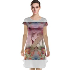 Cell Phone - Nature Forces Cap Sleeve Nightdresses