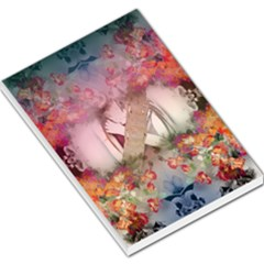 Nature And Human Forces Cowcow Large Memo Pads
