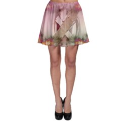 Nature And Human Forces Cowcow Skater Skirts