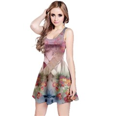 Nature And Human Forces Cowcow Reversible Sleeveless Dresses