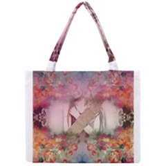 Nature And Human Forces Cowcow Tiny Tote Bags