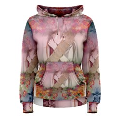 Nature And Human Forces Cowcow Women s Pullover Hoodies