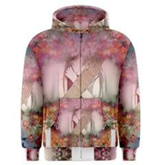Nature And Human Forces Cowcow Men s Zipper Hoodies
