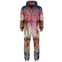 Nature And Human Forces Cowcow Hooded Jumpsuit (Men)