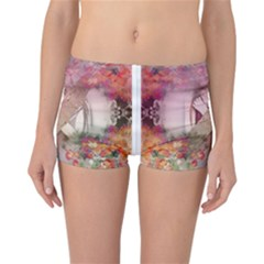Nature And Human Forces Cowcow Reversible Boyleg Bikini Bottoms