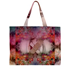 Nature and Human Forces Zipper Tiny Tote Bags