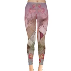 Nature And Human Forces Women s Leggings