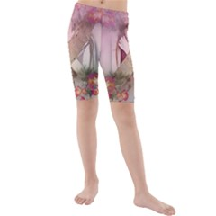 Nature And Human Forces Kid s swimwear