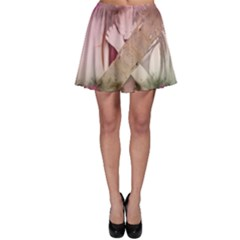 Nature And Human Forces Skater Skirts