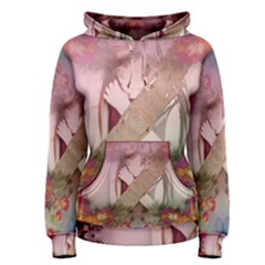 Nature And Human Forces Women s Pullover Hoodies