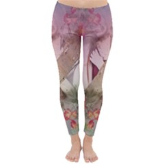 Nature And Human Forces Winter Leggings
