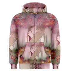 Nature And Human Forces Men s Zipper Hoodies