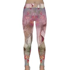 Nature And Human Forces Yoga Leggings