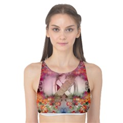 Nature And Human Forces Tank Bikini Top