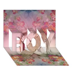 Nature and Human Force BOY 3D Greeting Card (7x5)