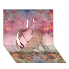 Nature and Human Force Apple 3D Greeting Card (7x5)