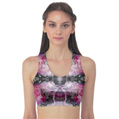 Nature forces Abstract Women s Sports Bra