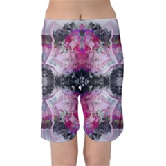 Nature Forces Abstract Kid s Swimwear