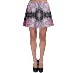 Nature forces Abstract Skater Skirts