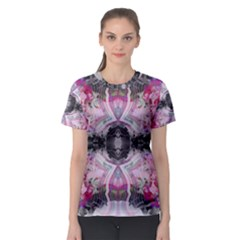 Nature Forces Abstract Women s Sport Mesh Tees