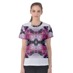 Nature forces Abstract Women s Cotton Tees