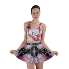 Nature forces Abstract Mini Skirts