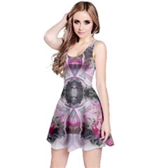 Nature Forces Abstract Reversible Sleeveless Dresses