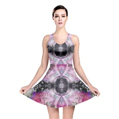 Nature forces Abstract Reversible Skater Dresses